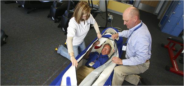 Dr john gleddie hyperbare et nascar for Chambre hyperbare